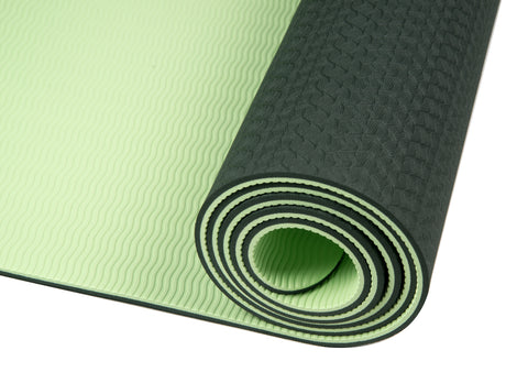 Dual-sided TPE Yoga Mat Set