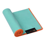 Natural Jute Yoga Mat Set - Green