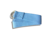 Cotton Yoga Strap - Blue