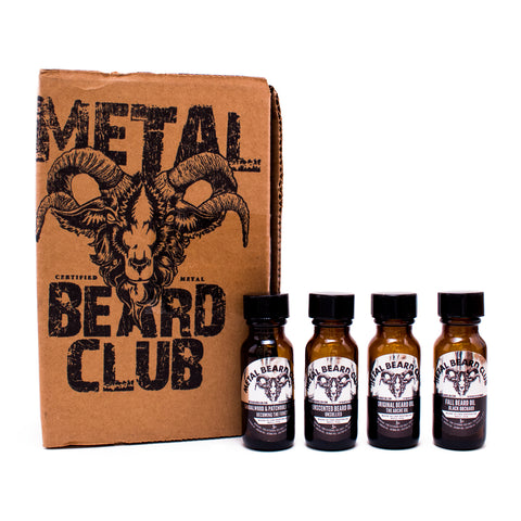 BEARD OIL SAMPLE BOX - ALL IN ONE