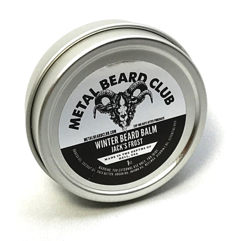 WINTER BEARD BALM - JACK'S FROST