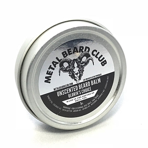 UNSCENTED BEARD BALM - OLORIN'S CHOICE