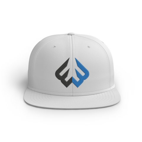 Weak3n Snapback Hat - White