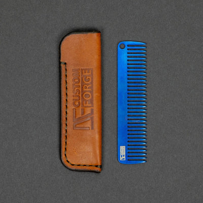 DE Custom Forge Comb - Anodized Titanium