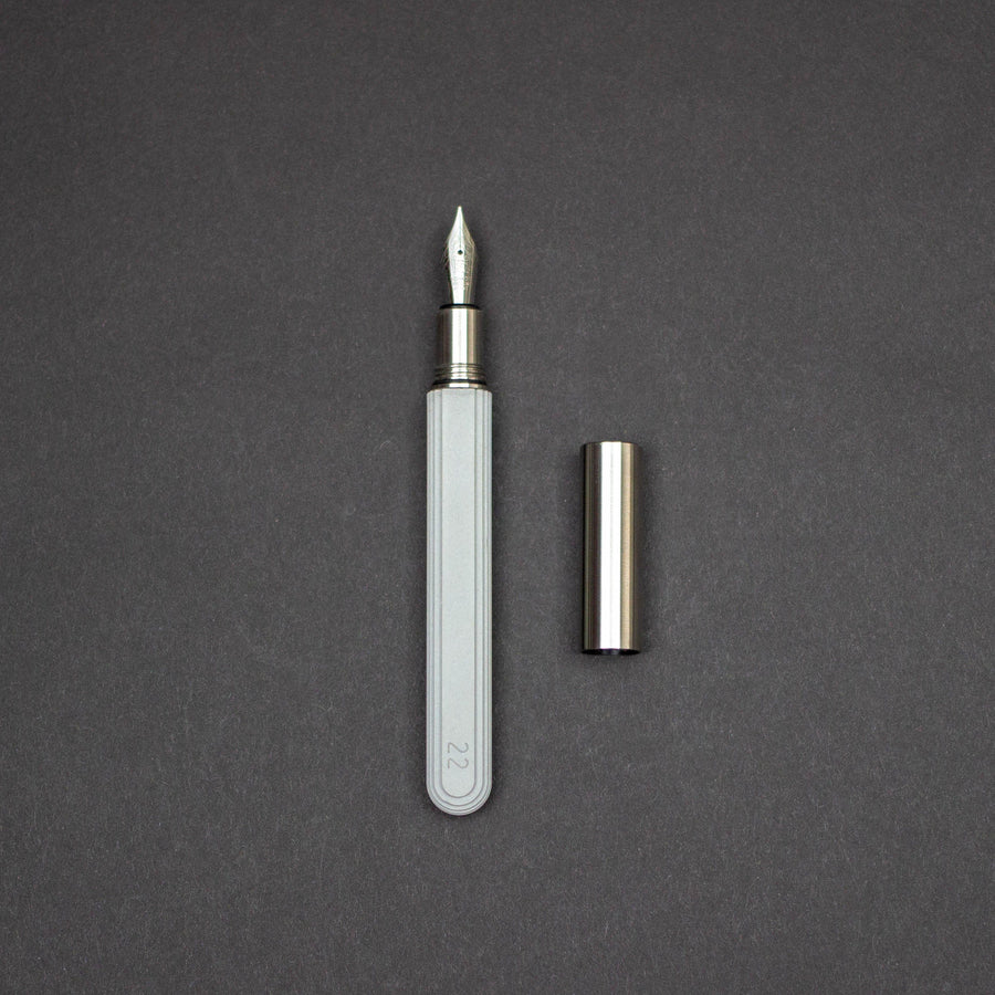 Early Bird - Pre-Order: 22 Designs Contour Fountain Pen (Pre-Order Ends 7/27, Ships End Of August)
