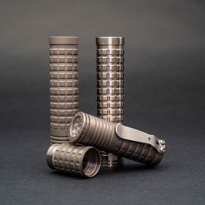 Flashlight - Pre-Order: ReyLight Triple Dawn - Titanium