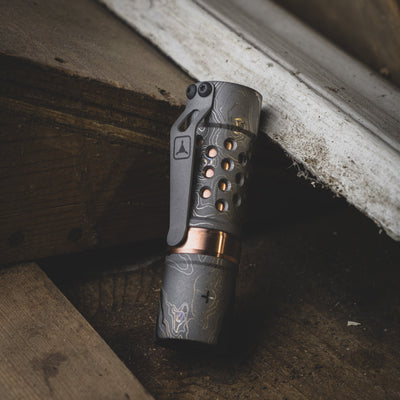 Flashlight - Pre-Owned: Barrel Flashlight - TAD Edition (Custom)
