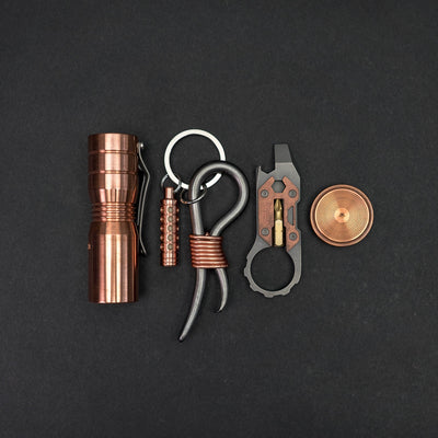 Flashlight - Pre-Owned: Sinner Tri-EDC - Copper