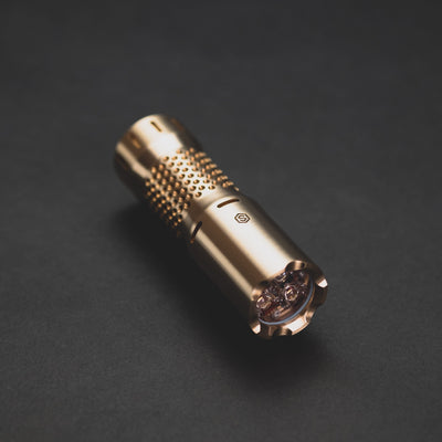 Flashlight - Sinner Customs 18350 RM - Brass