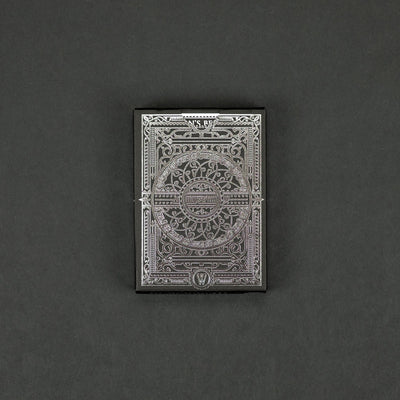 Game - Black Ink Playing Cards - Devastation - Silver Edition