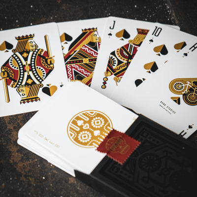 Game - DKNG Playing Cards - Black Wheels