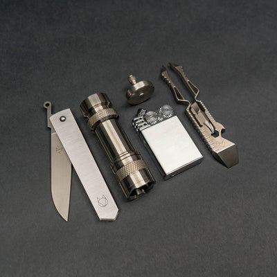 Game - Fiddle Foundry EDC Pocket Top One - Stainless Steel