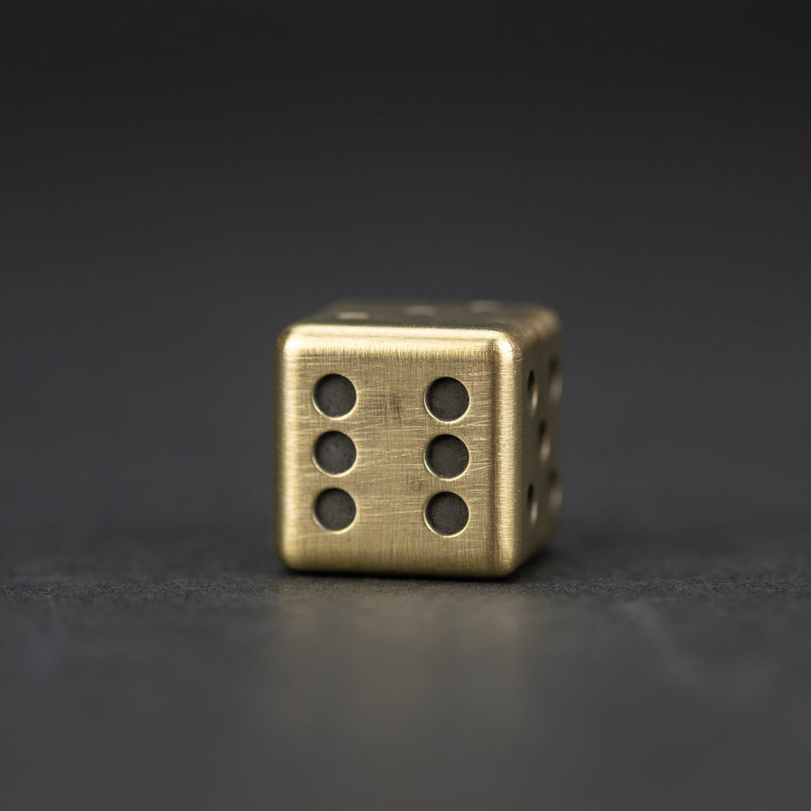 HogDoggins Urban EDC Supply Dice - Brass (Exclusive)