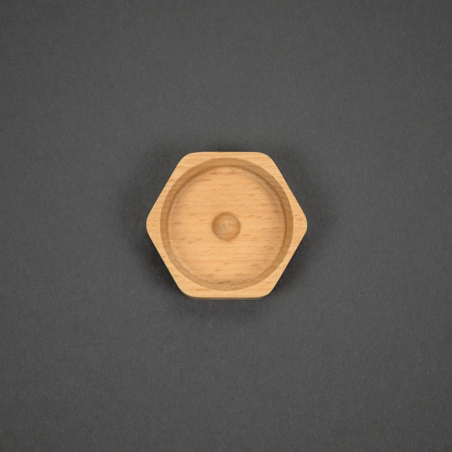 Game - Pre-Order: Lautie NOIZ Spinner Wooden Base - Cedar (Pre-Order Ends 2/4, Ships Late March)