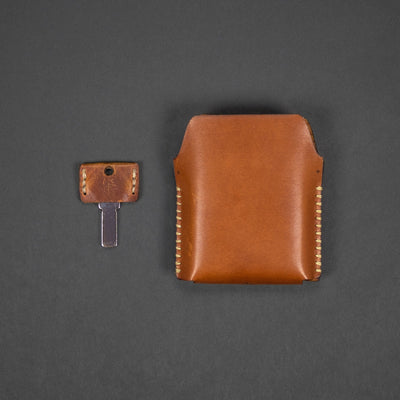 Game - Pre-Order: Misc. Goods Co. Leather Card Deck Case W/ Deck Of Cards (Pre-Order Ends 3/8, Ships Mid April)