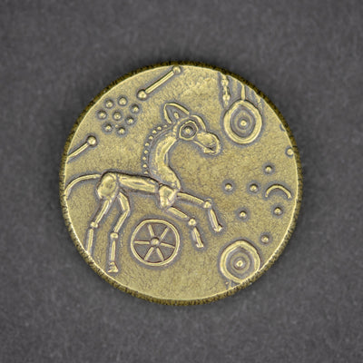 Game - Shire Post Mint American Gods Sun Coin - Mad Sweeney's Lucky Coin