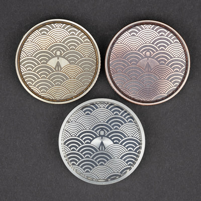 Game - Umburry Haptic Super Click Coin Seigaiha Motif (Exclusive)