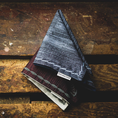 General Store - Everyday Hanks Gray Slate Handkerchief