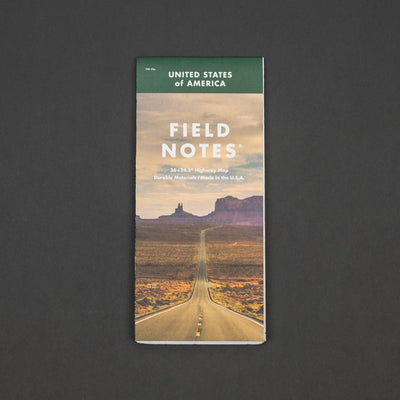 General Store - Field Notes - National Highway Map (Limited Edition)