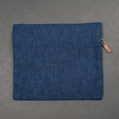 Kiriko Flat Zipper Pouch - Medium