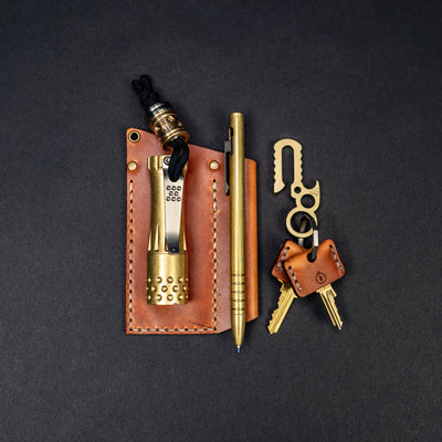 General Store - Leather Key Sheaths (2 Pack)