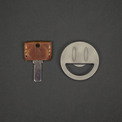 General Store - Luther Knives Mr. Happy Bottle Opener - Zirconium (Urban Series)