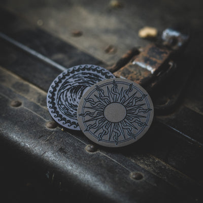 General Store - McNees Fire & Water Coin - Titanium (Exclusive)