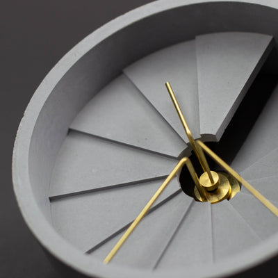 22 Designs Fourth Dimension Table Clock