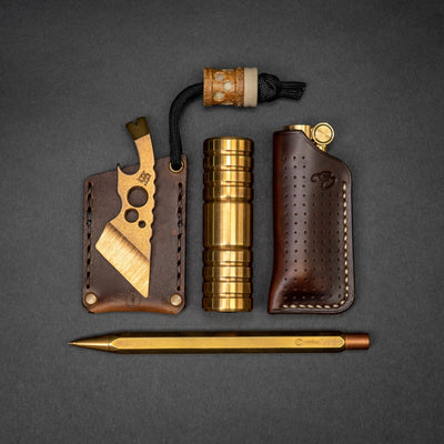 General Store - Pre-Order: Savitsky Designs BIC Lighter Sheath - Horween Leather