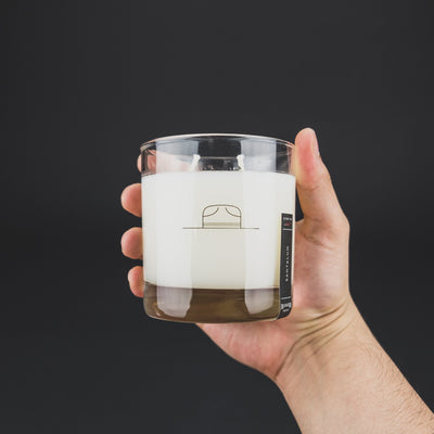 General Store - Ranger Station Whiskey Glass Candle