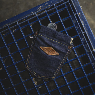 General Store - Runabout Goods Coin Pocket - Denim