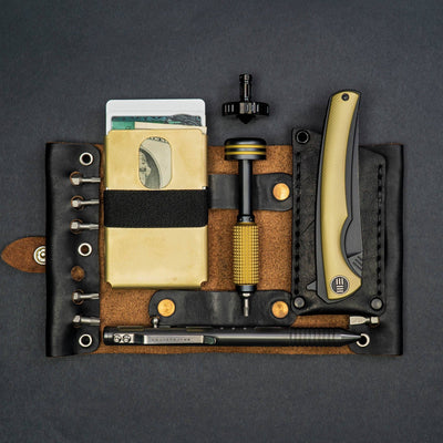 General Store - Scout Leather Co. Hex Bit Driver Tool Roll