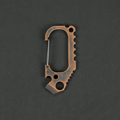 Keychains & Multi-Tools - Anso Carabiner V3 - Copper