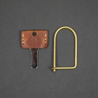 Keychains & Multi-Tools - Craighill Wilson Keyring - Brass