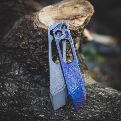 Keychains & Multi-Tools - DE Custom Forge FollowPry - Titanium