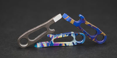 Keychains & Multi-Tools - Fairly Knives Original DFK KCT - Titanium