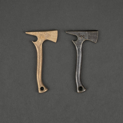 Keychains & Multi-Tools - Hoffman Blacksmithing Axe Bottle Opener - Bronze Alloy