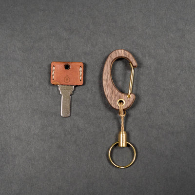 Hudwood Wooden Carabiner - Simple