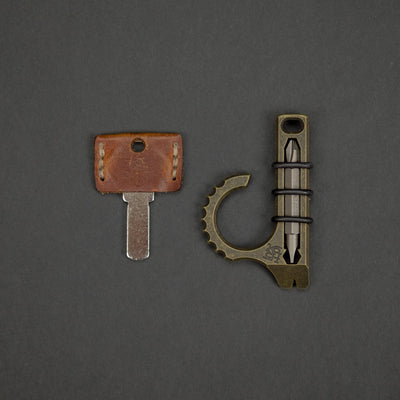 Keychains & Multi-Tools - Koch Tools Duo-X - Brass