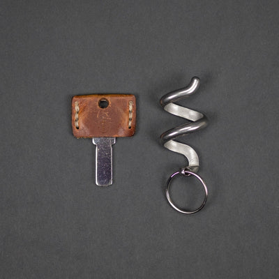 Keychains & Multi-Tools - Pre-Order: CCKW Serpent Lighter Holder - Stainless Steel (Pre-Order Ends 3/22, Ships Late April)