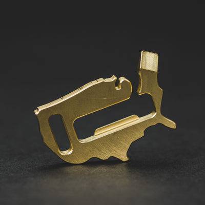 Keychains & Multi-Tools - Pre-Order: Rustic EDC USA Bottle Opener Tool (Pre-order Ends 8/9 And Ships Late September)