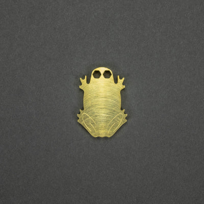 Toadal Customs Loaded Toad - Brass