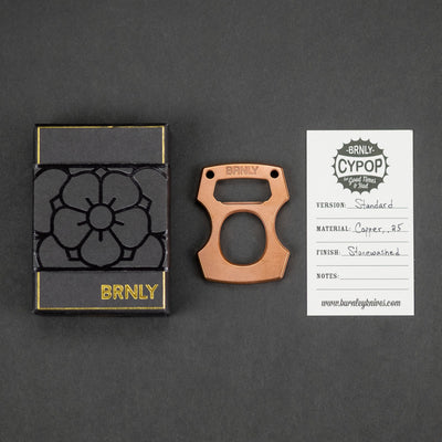 Keychains & Multi-Tools - Pre-Owned: Burnley Cypop - .25 Copper (Custom)