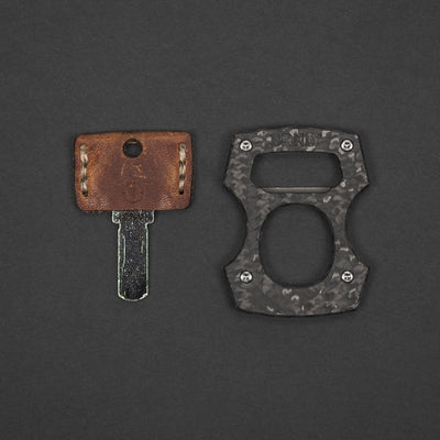 Keychains & Multi-Tools - Pre-Owned: Burnley Designs Contra Cypop - Carbon Fiber & Titanium