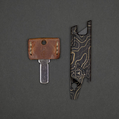 Keychains & Multi-Tools - Pre-Owned: Rexford RUT TAD Edition - Titanium