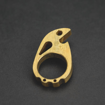 Keychains & Multi-Tools - Pre-Owned: VoxDesign Anchor Stamped Ping - Marine Brass (Custom)