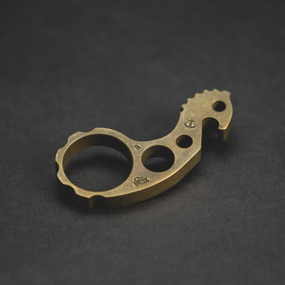 Keychains & Multi-Tools - Pre-Owned: VoxDesign Hold Fast Sulky Seahorse - Brass (Custom)