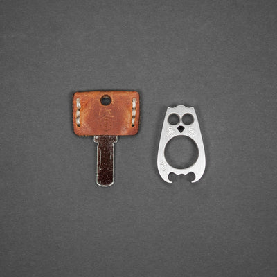 Keychains & Multi-Tools - Pre-Owned: VoxDesign Vox Mini Orwell - Marine Steel (Custom)