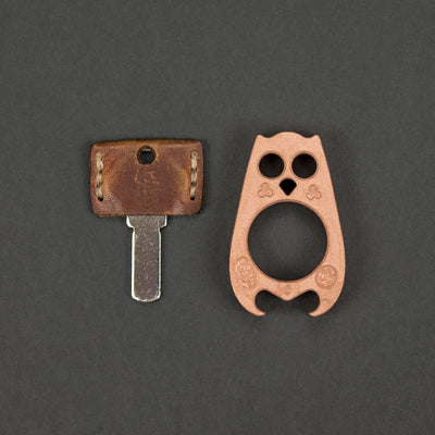 Keychains & Multi-Tools - VoxDesign Orwell - Blasted & Tumbled Copper (Custom)
