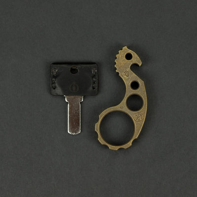 Keychains & Multi-Tools - VoxDesign Sulky Seahorse - Patinaed Brass (Custom)